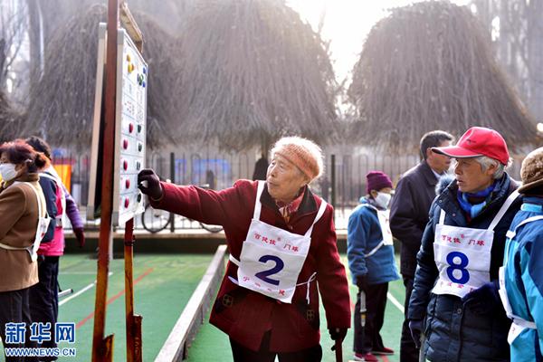 """青海省庆""""三八""""节妇女门球赛让更多人关爱老人热爱运动"""