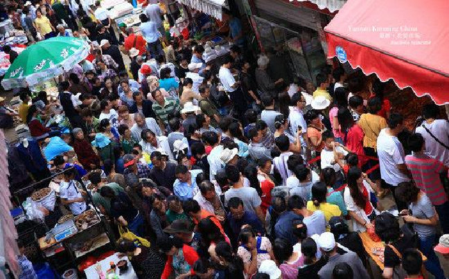 昆明篆新农贸市场6月升级改造 涉及门牌、大棚等内部设施