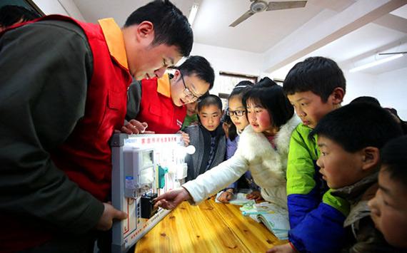 合肥供电公司:绿色安全用电进校园