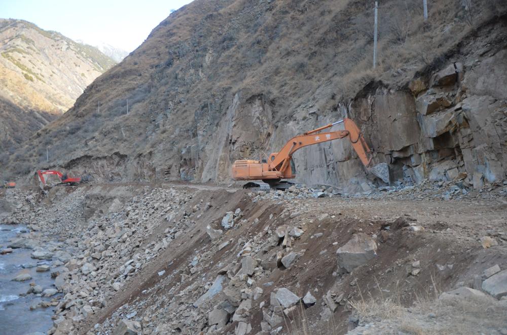 川藏公路海通沟段整治任务完成