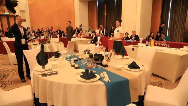 2017年辽宁职业院校技能大赛中西餐主题宴会设计大赛在沈阳大学举行