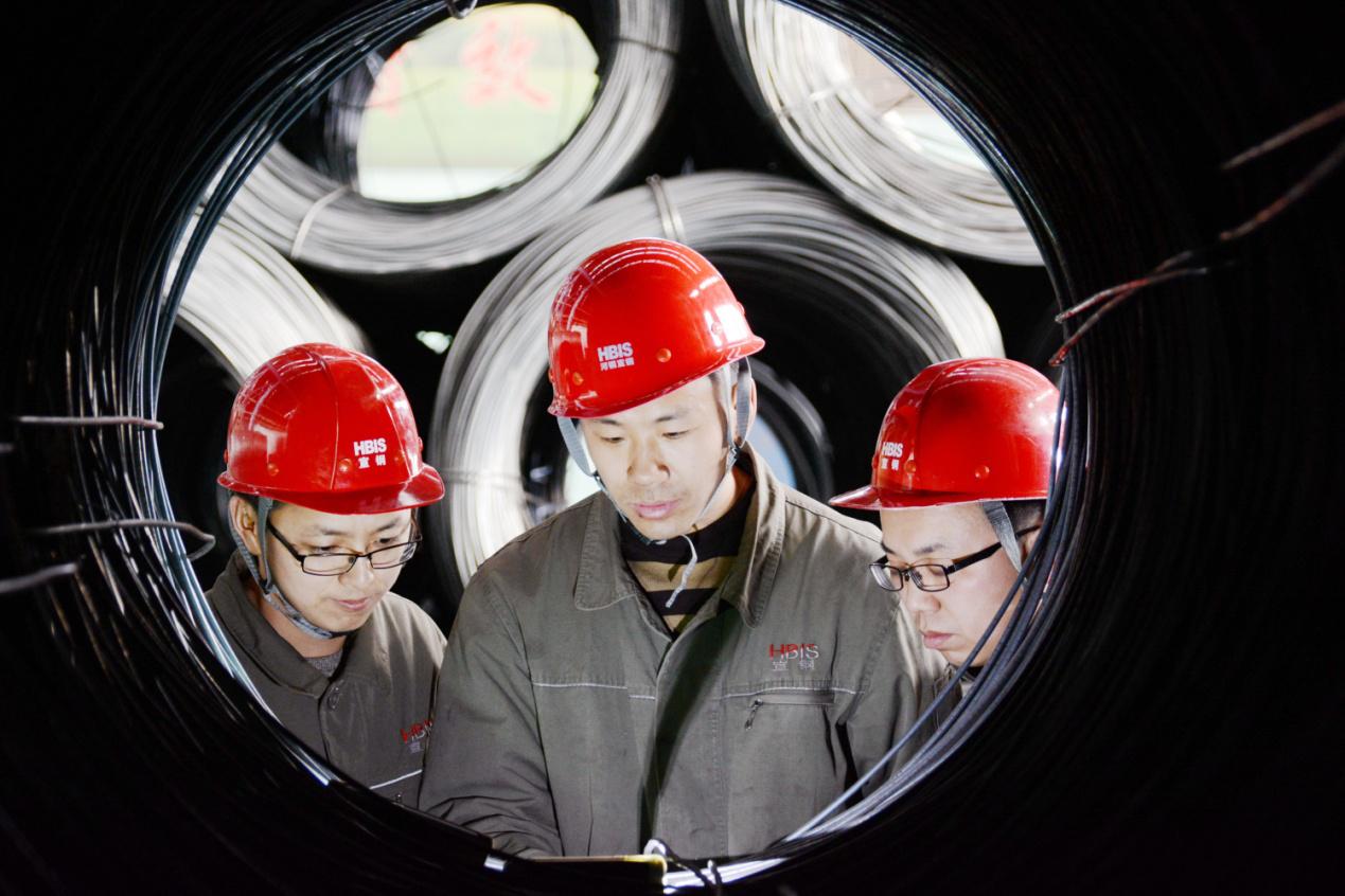 河钢宣钢成功开发XZJ55高强度焊丝钢