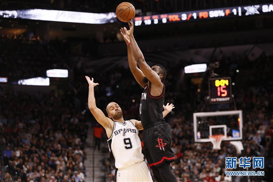 NBA季后赛:马刺胜火箭