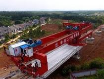 商合杭高铁浙江段开始上部主体施工