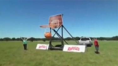 巨型篮球 花式投篮