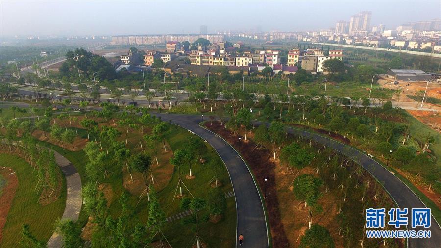 江西新干:着力打造城市休闲生态圈