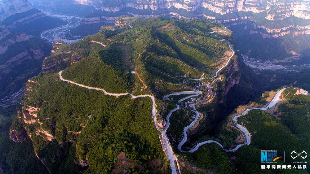 【飞阅中国】太行大峡谷 山路十八盘