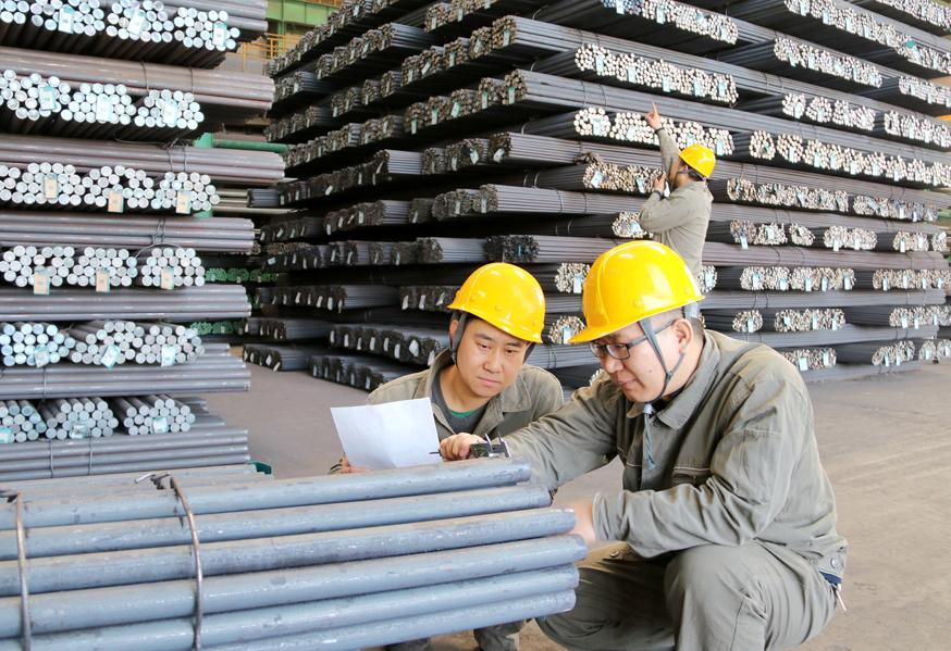 河钢宣钢新品开发驶出加速度