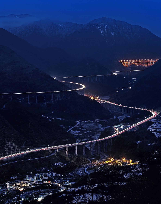 [组图] 雅西高速双螺旋 中国醉美摄影点(14P) - 路人@行者 - 路人@行者