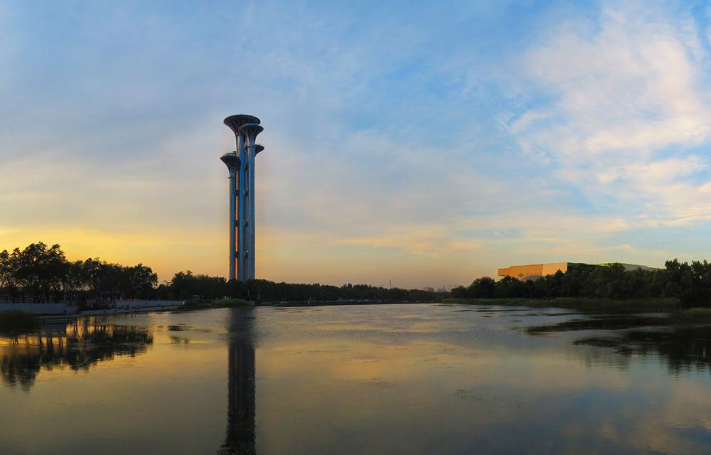 北京奥林匹克森林公园瞭望塔_发展论坛_新华社区