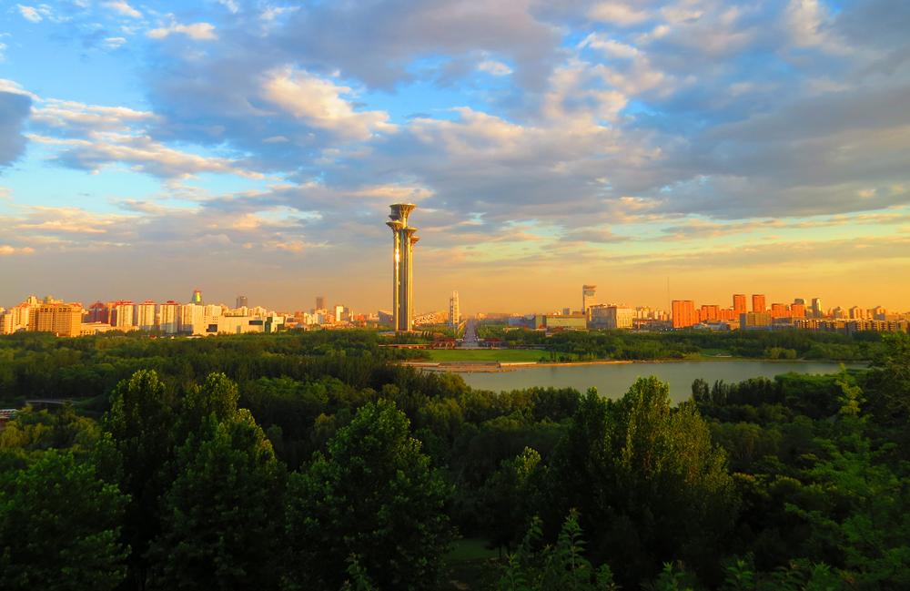 北京奥林匹克森林公园了望塔