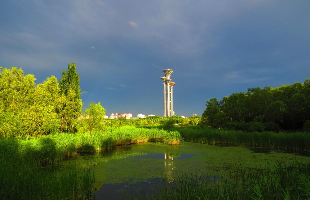 奥林匹克公园了望塔(二)