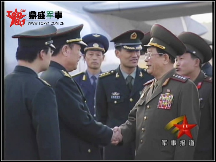 每日一图 中国军服与朝鲜军服有差别图片