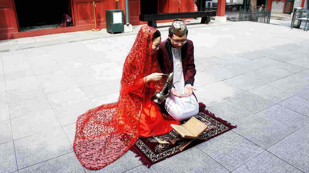 穆斯林婚纱照