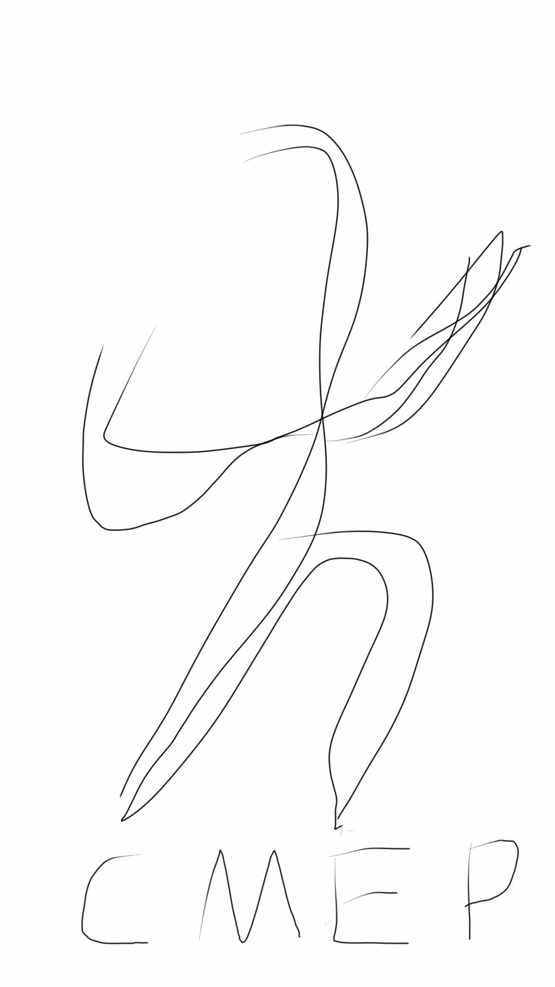 简笔画 手绘 线稿 1080_1920 竖版 竖屏