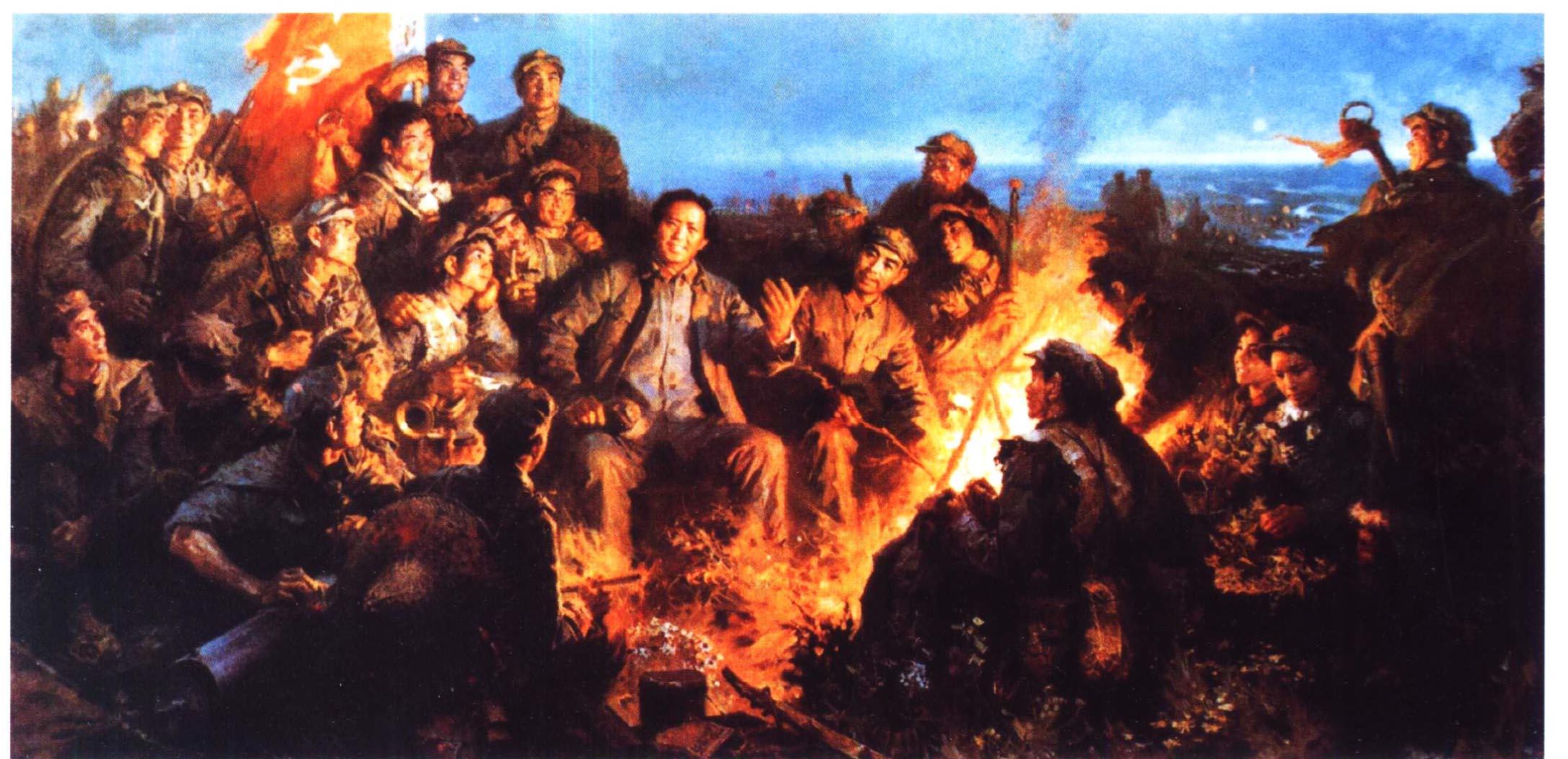 """官兵一致同甘苦,革命理想高于天.""""它生动地反映了红军的""""绝唱""""精神."""