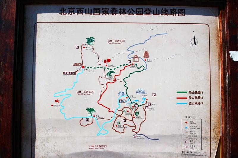 """标题:【金秋赏红叶】西山国家森林公园""""红叶岭"""""""