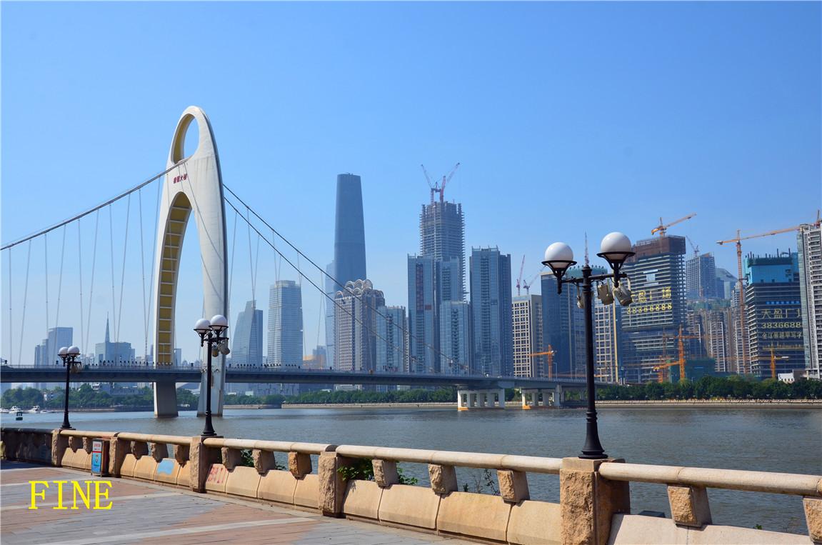 标题:【转图】西塔上面拍的几张广州