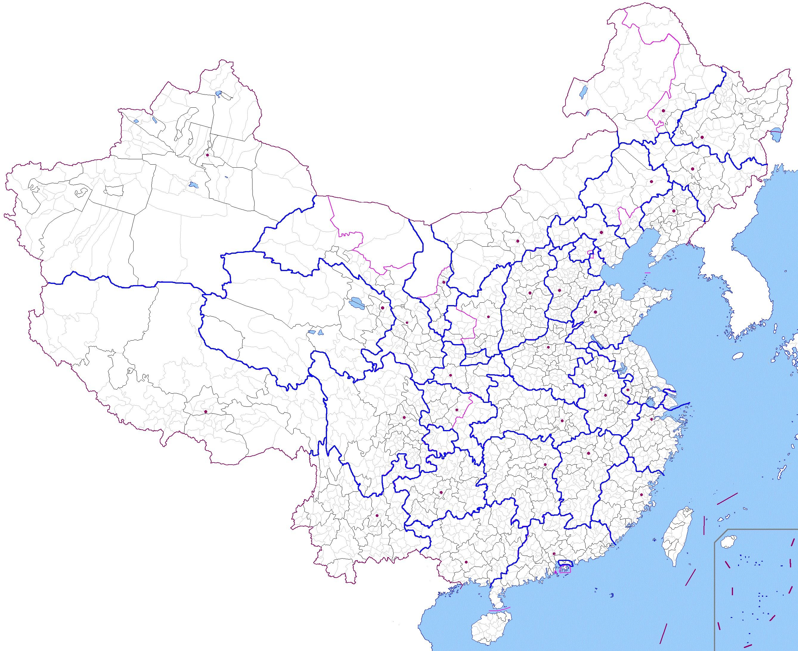 大连行政区域划分地图-中国行政区划改革图图片