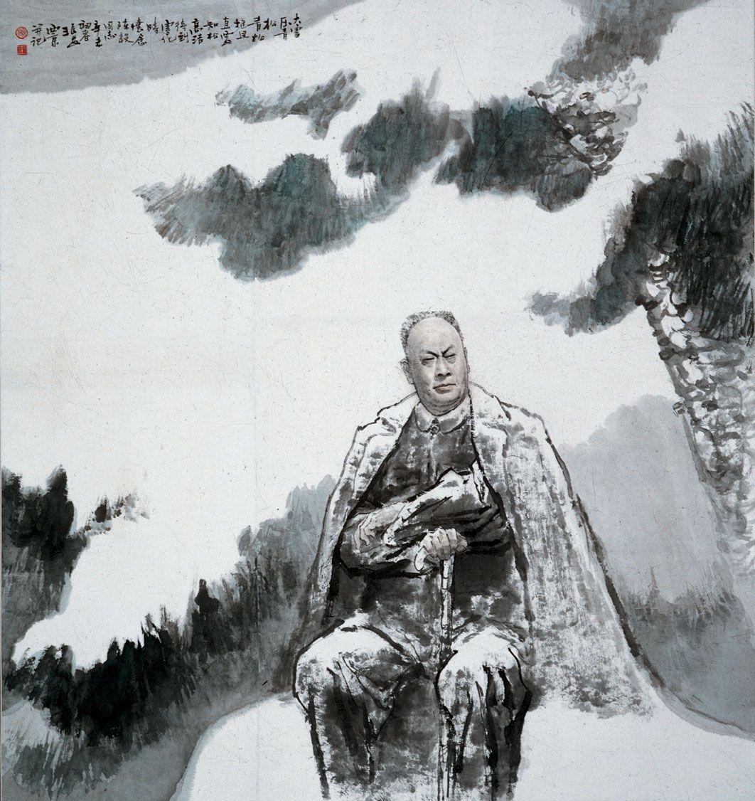 王西京,1946年生於陜西西安,现任中国美术家协会理事,中国美协中国画