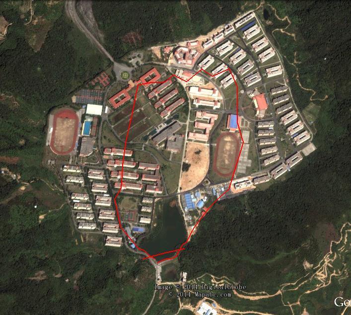广州中山大学南方学院世外桃源设计方案 本方案呈送广东省环保局申请