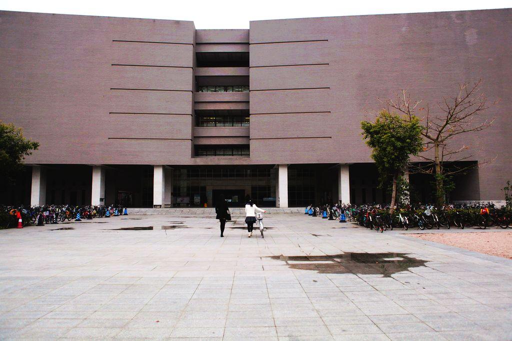 北京师范大学珠海分校一隅