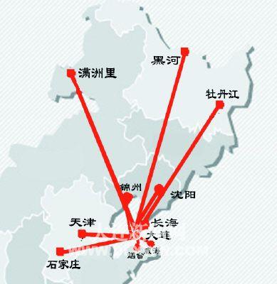 据悉,大新华航空先后开通大连往返威海,烟台,天津等航线,正式