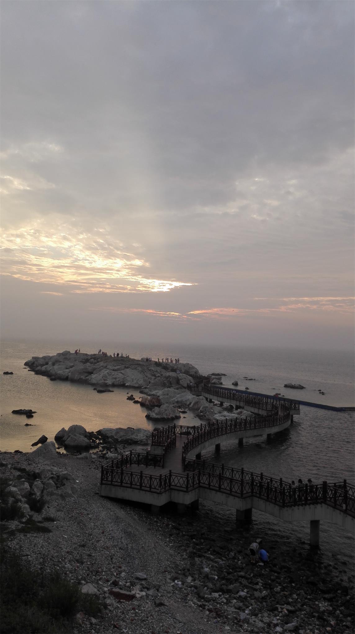 烟台养马岛的早晨