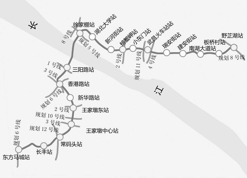 武汉地铁7号线一期工程获国家发改委正式批复