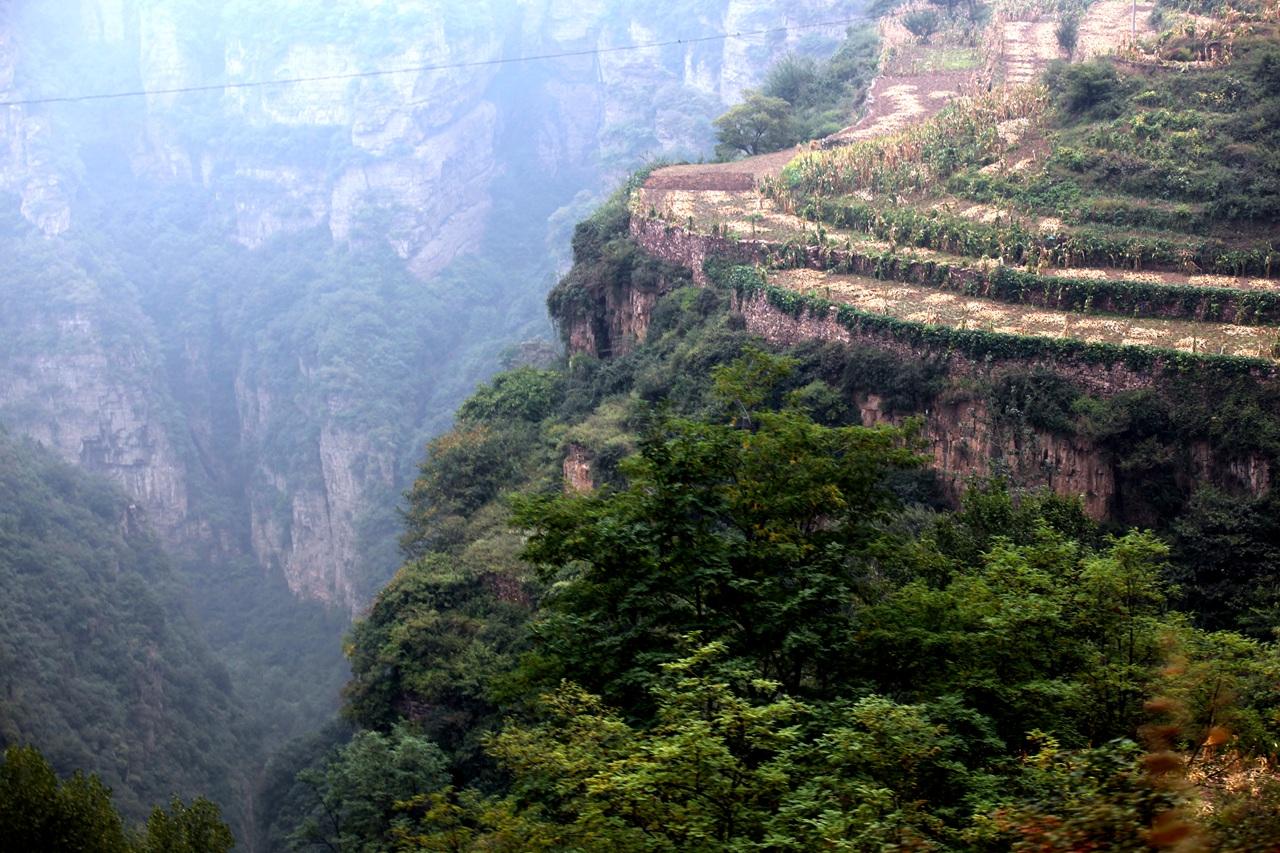 标题:林州太行大峡谷图片