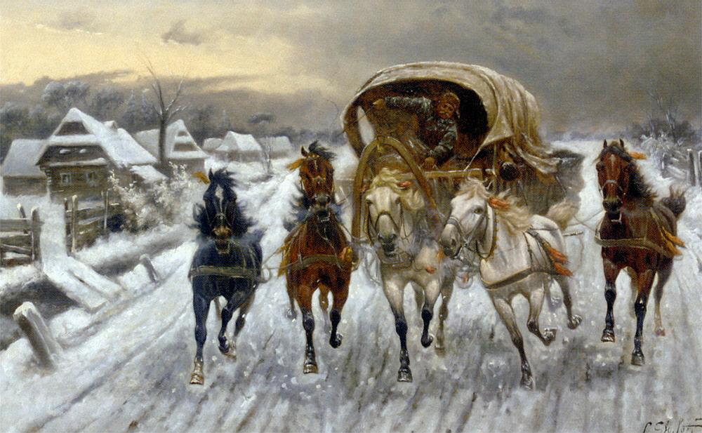 俄罗斯画家作品选636 - chenjianguo87 - chenjianguo87 的博客
