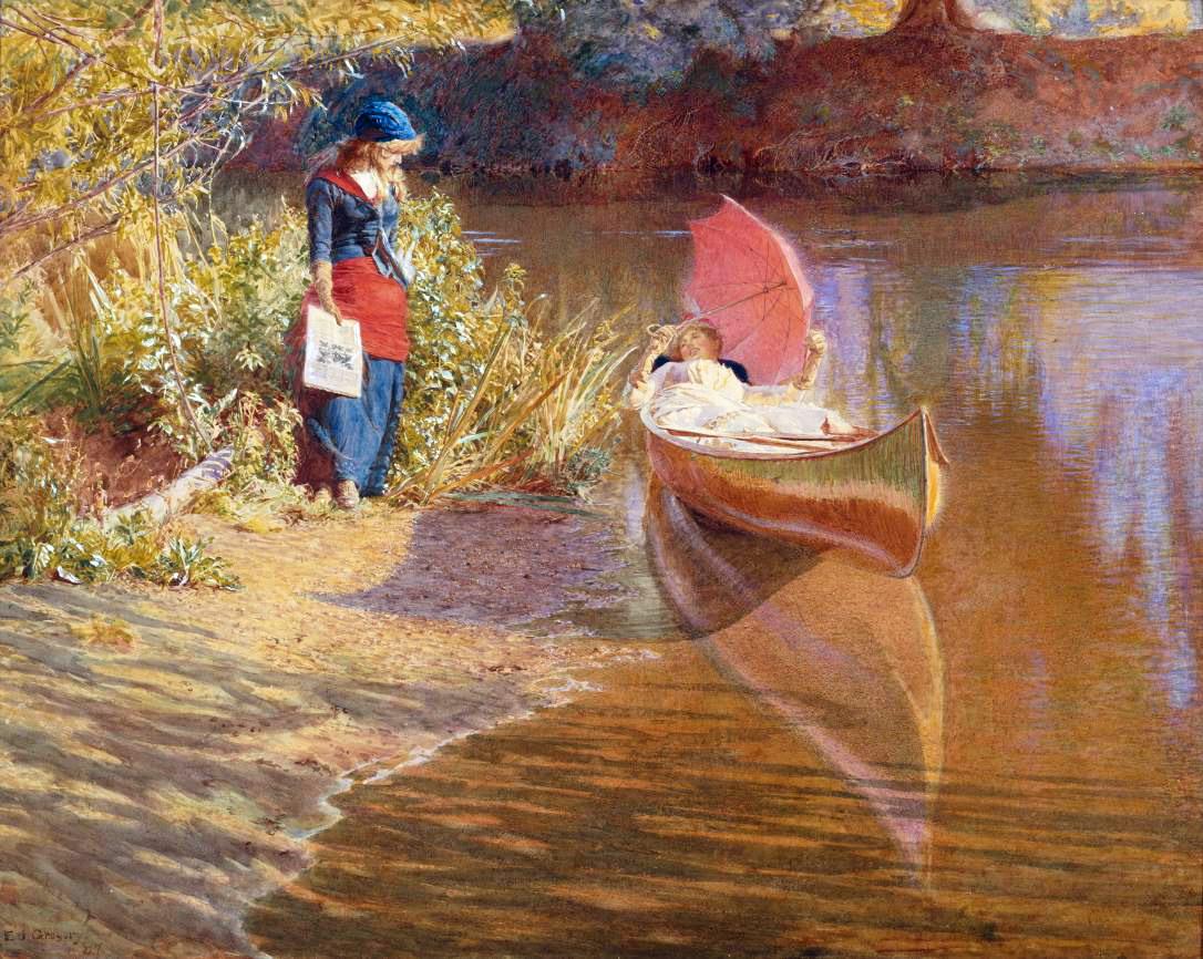 英国维多利亚時期画家作品选764 - chenjianguo87 - chenjianguo87 的博客