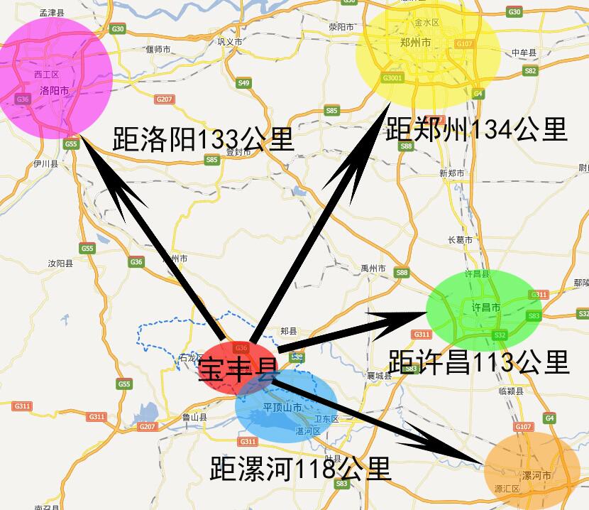 河南省平顶山宝丰县土地介绍 高清图片