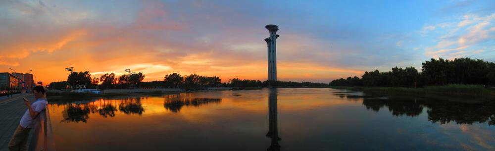 描述:北京奥林匹克森林公园了望塔