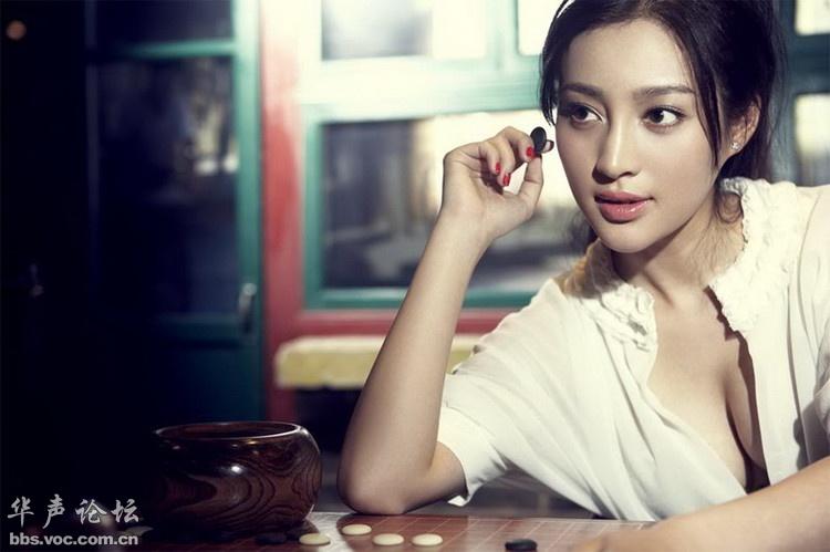 韩媒评出的中国最美女神排行榜