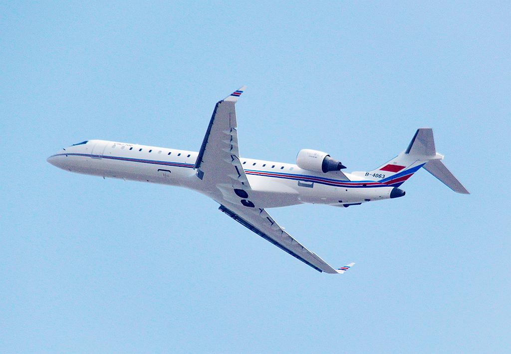 参观珠海航展之民用飞机