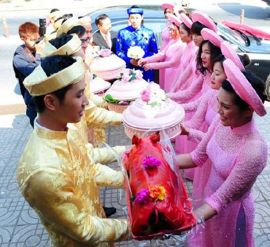 越南人的奇特婚礼 - 暖雪8521 - 暖雪8521
